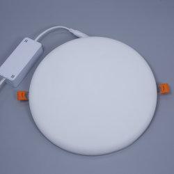 7W/18W/24 Вт/36W Безрамные тонкий встраиваемый Потолочный светодиодный индикатор на панели управления