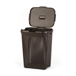大きく及び高い形の汚れた布の収納用の箱、洗濯物入れの障害