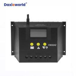 Solarladung-Controller des controller-50A Selbst-PWM Solarder spannungs-12V/24V für Hauptc$wegrasterfeld Stromerzeugung-System