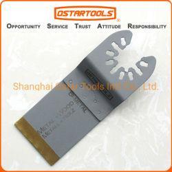 blad van de Zaag van 34mm (13/8 '') het BimetaalTitanium Met een laag bedekte Oscillerende voor Metaal