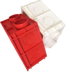 Carte de Commutateur en plastique de bord de gros de la couleur rouge/blanc double