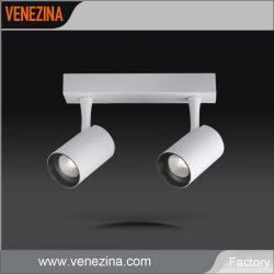 Duplo de alta eficiência na luz de tecto de montagem em superfície de alumínio do PC via LED sabugo em destaque