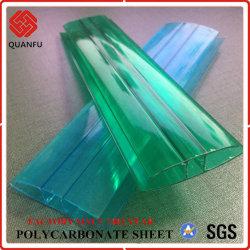 Profilo multicolore del PC H della Cina Quanfu per lo strato della cavità del policarbonato
