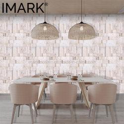 Mosaico speciale del marmo del travertino di disegno per i materiali da costruzione di progetto dell'hotel