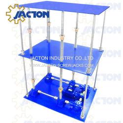Qualität drehte Mechanismus Foradjustable Höhen-Tische, Hochleistungsin position bringentische, Aufzug-Tisch-motorisierter kleiner Hersteller manuell durch