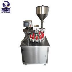 Высокоскоростной поворотный стол крем трубки заполнения и герметизации машина ультразвуковые косметический ПЭ трубы для резьбовых соединений с датой печати