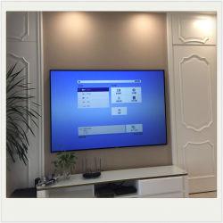 X-yHeimkino Alr des bildschirm-100inch schwarzer Kristallprojektions-Bildschirm-Laser Fernsehapparat