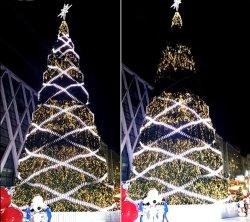 Thème de Noël Décoration Bande LED pour éclairage de profil en aluminium
