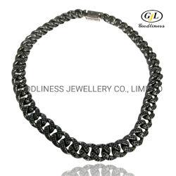 Горячая продажа латунные высокое качество кубинского ожерелья цепочки для мужчин чокера цепочка