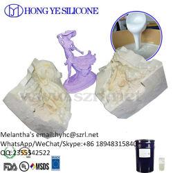 Matériau de moulage silicone RTV La fabrication de moules en caoutchouc de silicone liquide