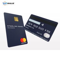 Personalizados personalizados de alta qualidade, elegante barata de plástico de PVC em relevo a impressão de cartão de negócios feitos de PVC/Folha de PC