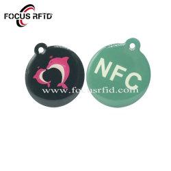 Custom NFC технология RFID метка эпоксидной смолы и брелок