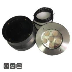 Luz LED de bajo el agua caliente de Venta de protección IP68 Lámpara LED de luz de la Piscina