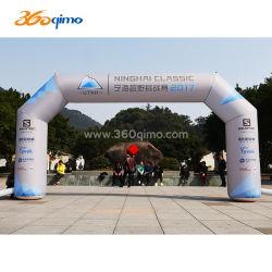 На открытом воздухе рекламы надувные арки Airblowing надувные для Triathlon