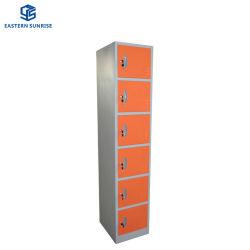 Neues Tür-Schließfach des Metallmöbel-Speicher-Schrank-Gymnastik-Supermarkt-6