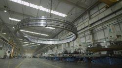 Périphérique de la platine de grande taille à pignons internes des roulements de pivotement pour grue de pont de la machine, l'énergie éolienne et de la machinerie de construction