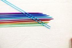 Farbe oxidierter Strickjacke-Nadel-strickender Hilfsmittel-Durchmesser 4.0mm