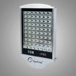 70Wによってダイカストで形造られるアルミ合金防水LEDのトンネルライト