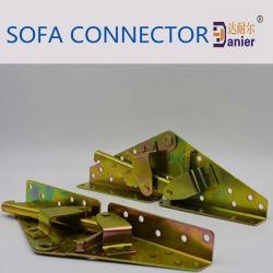 Le mobilier Matériel canapé Chrome connecteur commun 260*88