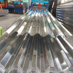 1,2 mm pour les maisons d'aluminium Aluminium feuilles de toiture en carton ondulé