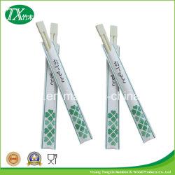 Natürliche Individuell Bedruckte Einweg Bamboo Twins Essstäbchen