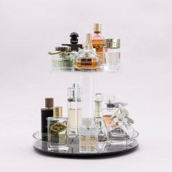 Акриловый органайзера для макияжа, салон красоты дисплей для установки в стойку, Plexiglass косметический пластиковая коробка