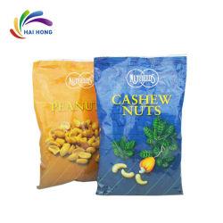 Fastfood- seitliches Stützblech-Plastiktasche für Nahrungsmittelverpackung