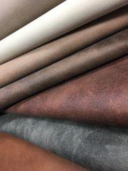 Material PU sintéticas suaves popular tela Sofás de cuero para calzado/tela bolsas/