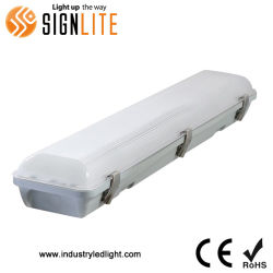 Usine de gros étanche IP65 40W IP65 Tri de vapeur la preuve de lumière LED linéaire avec pilote TUV