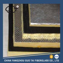 Conseil de laine de verre d'isolation thermique avec du papier aluminium pour la construction