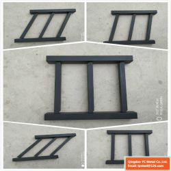 Montagem em rack de alumínio em pó de Design revestidos régua superior