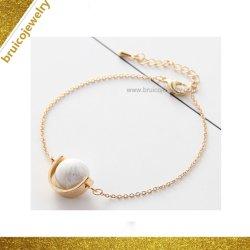 مجوهرات أنيقة 18K سلحية مطلية بالذهب سيدة 925 فضة سوار المجوهرات لهدية العرض