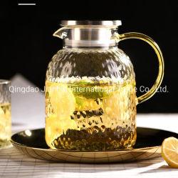 Устойчивость к высокой температуре стеклянную бутылку и холодная вода в чайнике
