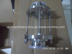 Debitmetre eau en acier inoxydable 304 Voyant de niveau de liquide de tuyau