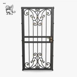China la fabricación de elegantes y el pastoreo de puerta de hierro forjado para su patio CIG-015