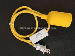 Twist Color Vintage tejido trenzado Luz Cable Cable Eléctrico cable