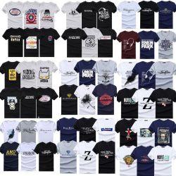 Kundenspezifische Qualität, Men' S-T-Shirt, Men' S-Kleidung, gedruckte T-Shirts, rundes Stutzen-Mann-T-Shirt, 100 Arten, heißer Verkauf