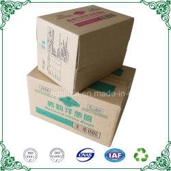 Almacenamiento sólida caja de cartón corrugado Entrega Express Embalaje