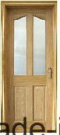 カシWooden Door (KD04A-G) (固体木のドア)