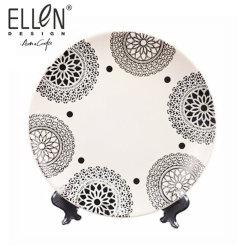 熱い販売の昇進の陶磁器の石器のディナー用大皿