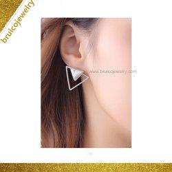 Производитель моды золотых ювелирных изделий 925 серебристые Earring шпильки украшения с драгоценными камнями