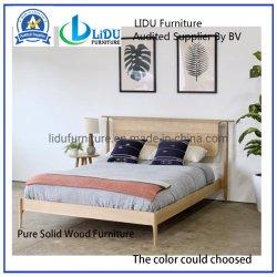 Plataforma moderna cama em Oak // meados do século XXI plataforma moderna de casal // Cama Plataforma // Storage Platform Bed// cama moderna// A madeira maciça Bed