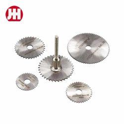 Le Rotary la puissance des outils de coupe en aluminium en bois Jeu de lames de scie HSS