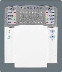 Panel de Control de alarma de teclado con cable con pantalla LED de la Zona 32