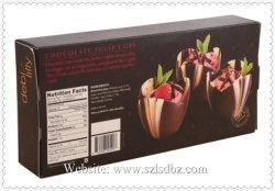 Bespoke bolo personalizado Embalagem Caixas Cupcake Cak Treatbox laminação de bolo Caixa de oferta das embalagens de papel