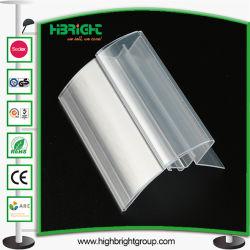 Transparente PVC PVC Price Tag for Sale