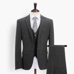 男性用チェックスーツ:ウェスタンスタイルビジネスメンズタキシードメンズスーツ