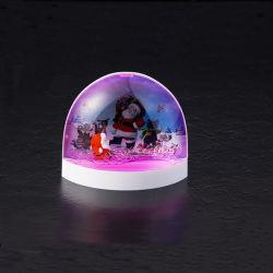 Acrílico LED lámpara de noche y el titular de la pluma de la decoración del hogar