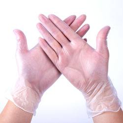 Fabricant de gants en vinyle PVC Gants jetables d'examen pour le ménage