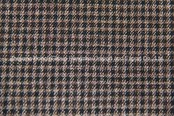 Fils teints tissu T/R, style écossais, 63 % Polyester, 34% viscose, 3% Spandex
